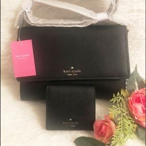KATE SPADE ♠️ SET ♠️BAG AND WALLET
